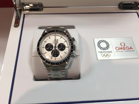 オメガ OMEGA スピードマスタープロフェッショナル 東京2020リミテッド 512.30.42.30.04.001
