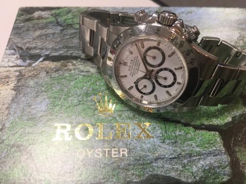 ロレックス ROLEX デイトナ 16520 WHT A番