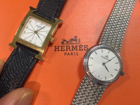 ODYSSEUS 168.33.08 , Hermes Hウォッチ QZ