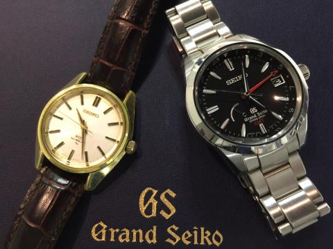 セイコー SEIKO GS GMT SBGE013 , KS 手巻 45-7001