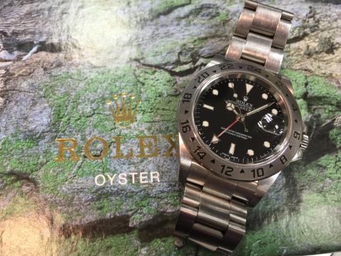 ロレックス ROLEX エクスプローラーⅡ 16570 Y番