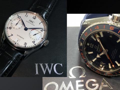 インターナショナル・ウォッチ・カンパニー IWC ポルトギーゼ 7DAYS IW500705 , OMEGA プラネットオーシャン600 232.32.44.22.03.001