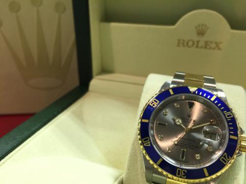 ロレックス ROLEX サブマリーナー 16613SG D番