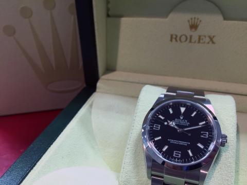 ロレックス ROLEX エクスプローラー 114270 Z番