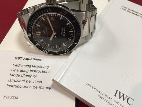 インターナショナル・ウォッチ・カンパニー IWC GSTアクアタイマー IW353602