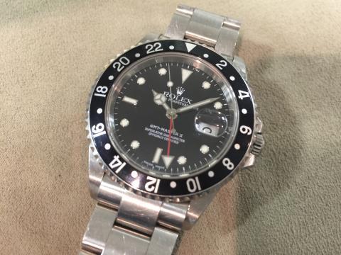 ロレックス ROLEX GMTマスターⅡ 16710 Y番