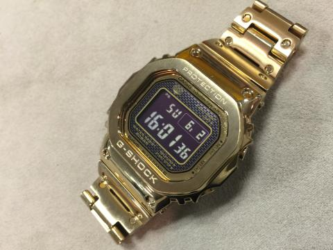 カシオ CASIO G-SHOCK GMW-B5000GD-9JF