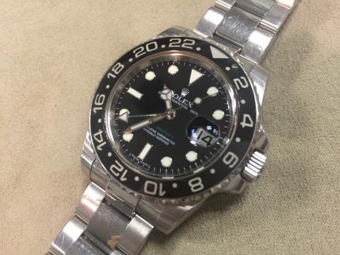 ロレックス ROLEX GMTマスター 116710LN M番