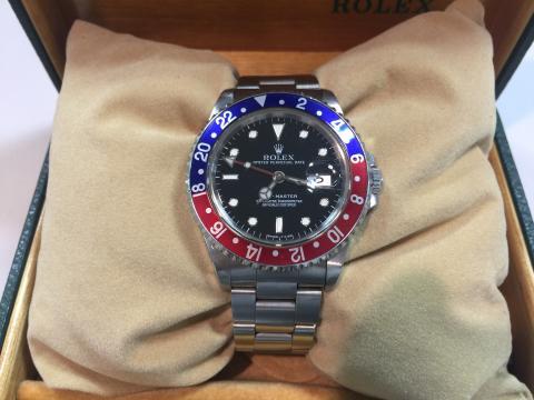 ロレックス ROLEX GMTマスター 16700 X番