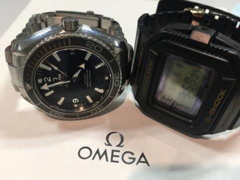 オメガ OMEGAシーマスター プラネットオーシャン 232.30.42.21.01.001 , CASIO G-SHOCK GW-5530C-1JR