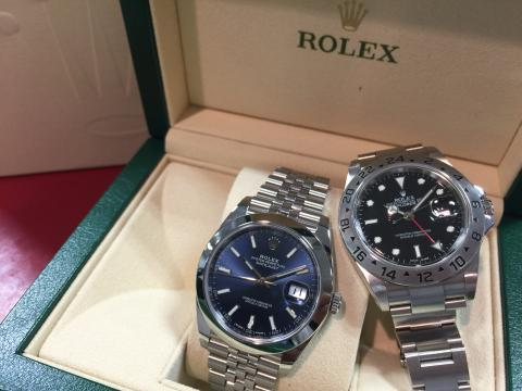ロレックス ROLEX デイトジャスト41 126300 , エクスプローラー2 16570