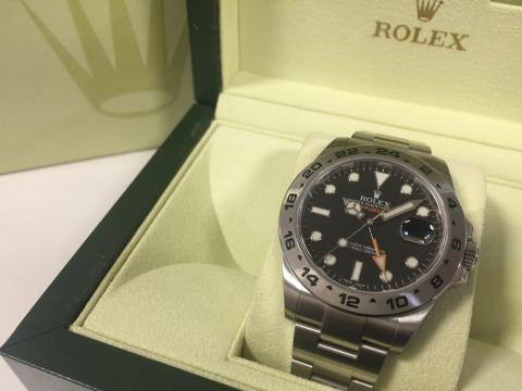 ロレックス ROLEX エクスプローラーⅡ 216570