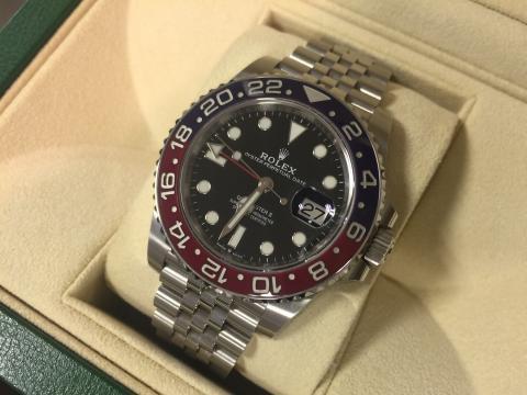 ロレックス ROLEX GMTマスターⅡ 126710BLRO