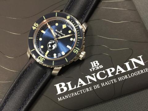 ブランパン BLANCPAIN フィフティファゾムス オーシャンコミットメントIII 5008-11B40-52A