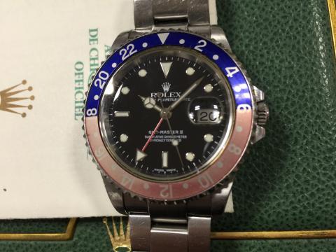 ロレックス ROLEX GMTマスターⅡ 16710 K番