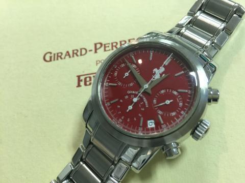 ジラール・ペルゴ GIRARD PERREGAUX フェラーリ クロノグラフ 8020