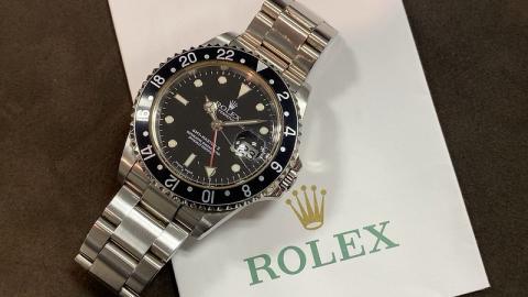 ロレックス ROLEX GMTマスターⅡ 16710 F番