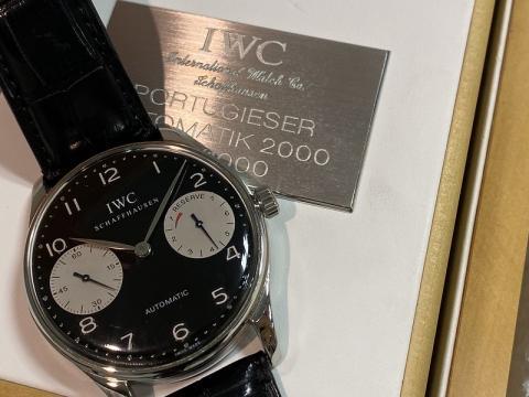 インターナショナル・ウォッチ・カンパニー IWC ポルトギーゼ2000 7DAYS IW5000-001
