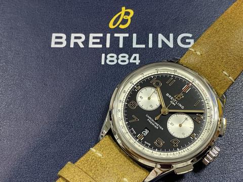 ブライトリング BREITLING プレミエ B01 クロノグラフ42 AB0118A21B1X2 AB0118