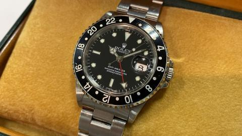 ロレックス ROLEX GMTマスター 16700
