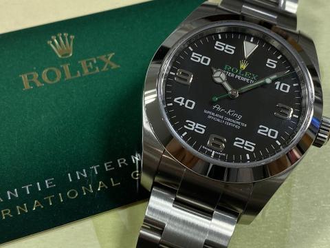 ロレックス ROLEX エアキング 116900