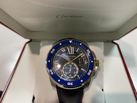 カルティエ CARTIER カリブルダイバー W2CA0008