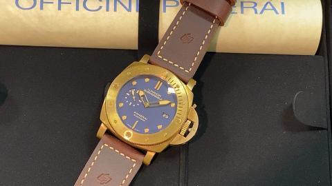 パネライ PANERAI サブマーシブル1950 3デイズ ブロンゾ PAM00671