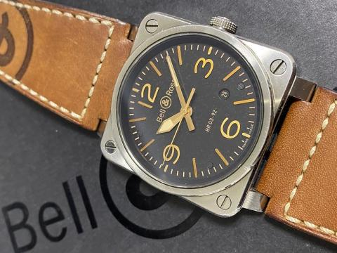 ベル&ロス Bell&Ross アヴィエーション ゴールデンヘリテージ BR03-92-S