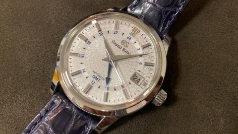 セイコー SEIKO GS 9Sメカニカル GMT 9S 20th SBGM235