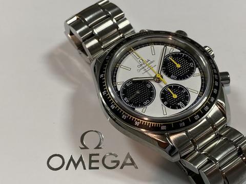 オメガ OMEGA スピードマスター レーシング コーアクシャル マスタークロノメーター 329.30.40.50.04.001