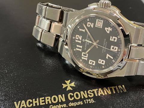 ヴァシュロン・コンスタンタン VACHERON CONSTANTIN オーヴァーシーズ ラージ 42042/423A-8890