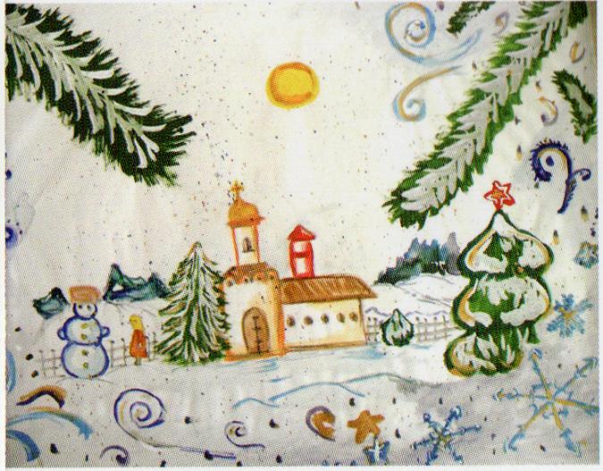 クリスマス ガヴリロワ・ヴィクトリヤ 16歳 ベラルーシ ゴメリ州ナロヴリャ市