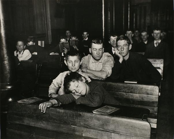 ジェイコブ・A・リース「貧困層の子供たち」シリーズより 1890年頃 ゼラチン・シルバー・プリント 20.5×25.2 cm 東京都写真美術館蔵