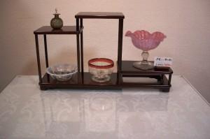 花梨飾り棚