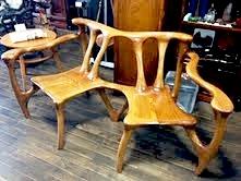 塩地の椅子