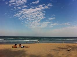 オーストラリアのビーチ