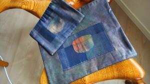 2,抹茶碗金糸入り袋帯