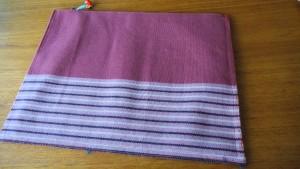 10,ピンク縞模様綴帯