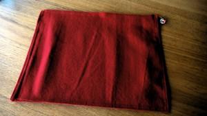 12赤地紬帯