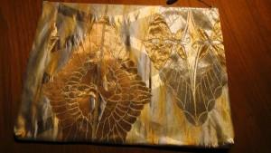 15白地吉祥袋帯