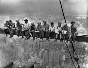 Men at Lunch - Original