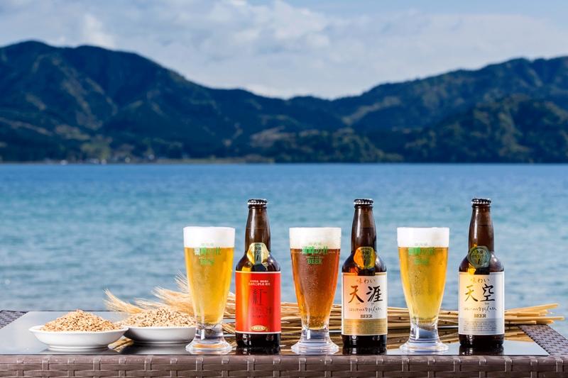 湖畔の杜ビール