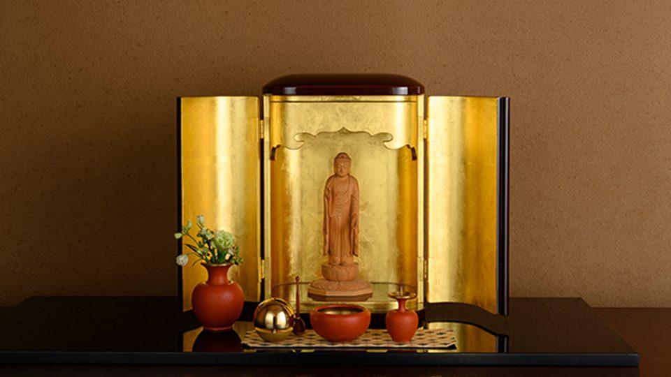 厨子仏壇「禅(ぜん)」茶拭き 特徴