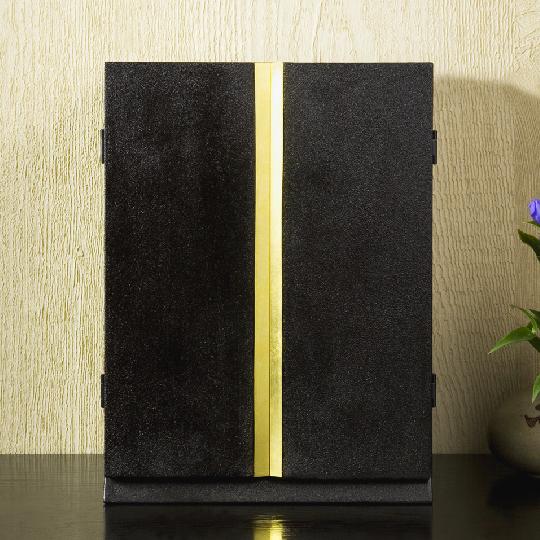 厨子仏壇 月輪(蒔き地漆 黒)03