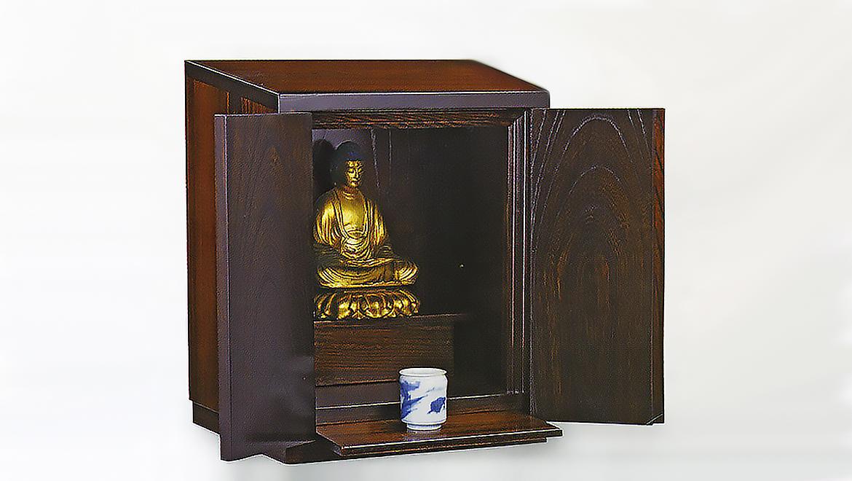 厨子仏壇「樹(じゅ)」茶拭き