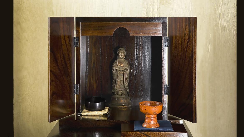 厨子仏壇「禅(ぜん)」茶拭き