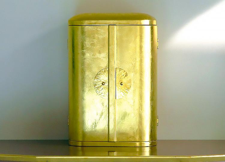厨子仏壇「日輪(にちりん)」金箔 特徴