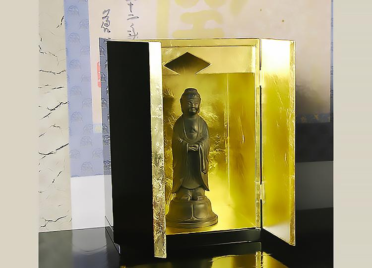 厨子仏壇「月輪(げつりん)」黒 特徴