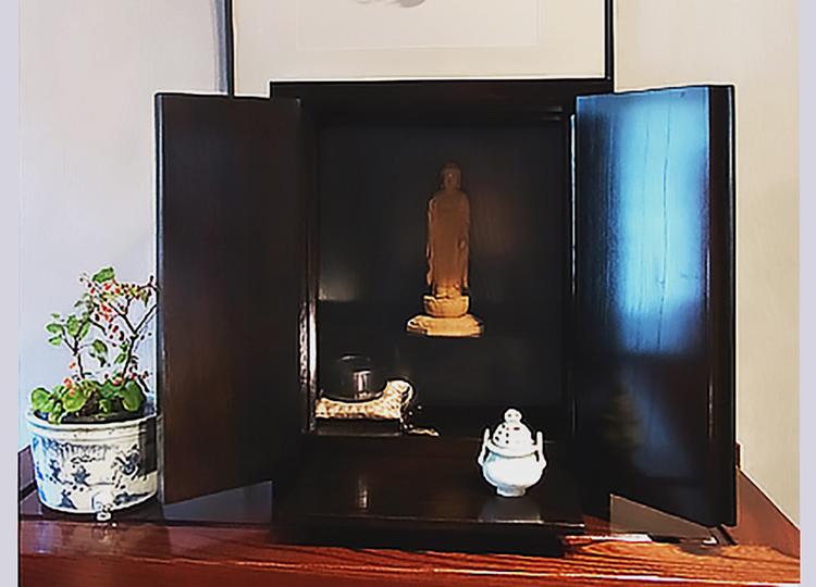 厨子仏壇「樹(じゅ)」黒拭き 特徴