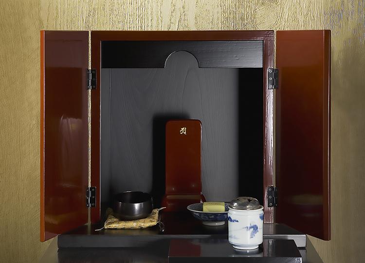 厨子仏壇「禅(ぜん)」古代朱 特徴